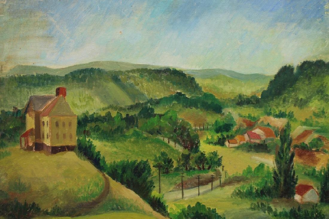 20th C. New England Landscape