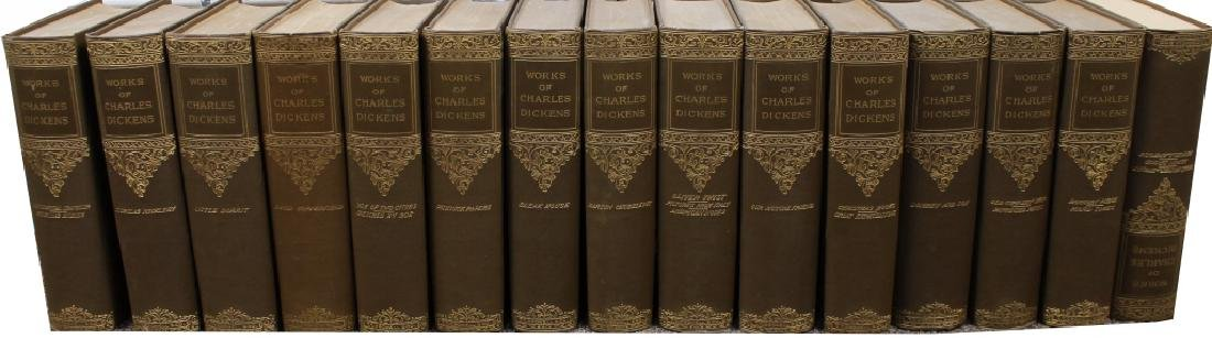 """(15) """"Works of Charles Dickens"""" Books"""