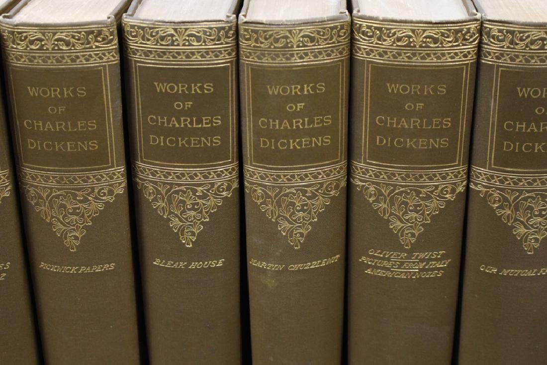 """(15) """"Works of Charles Dickens"""" Books - 2"""