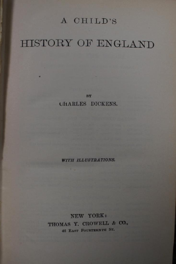 """(15) """"Works of Charles Dickens"""" Books - 3"""
