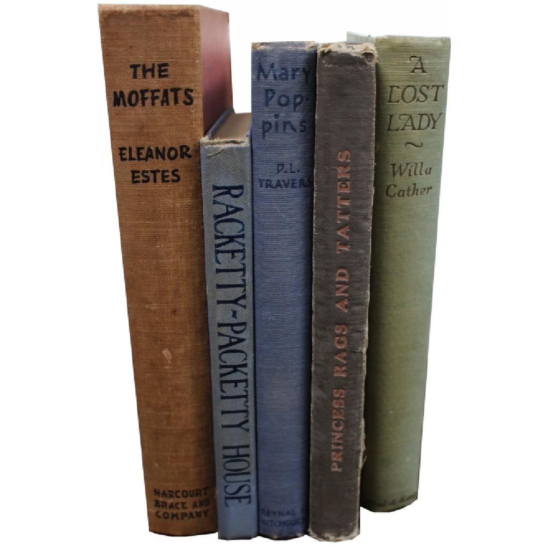Collection of (5) Miscellaneous Books