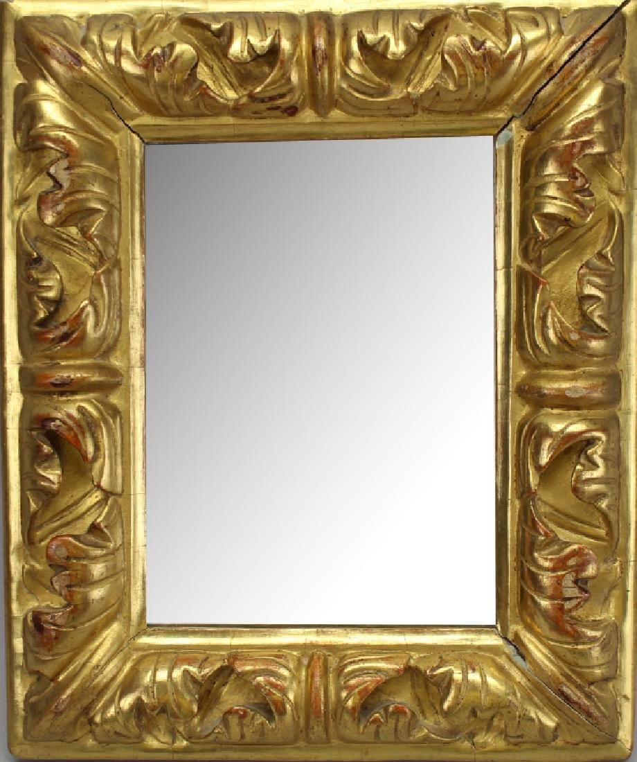 Antique Gilt Italian Mirror