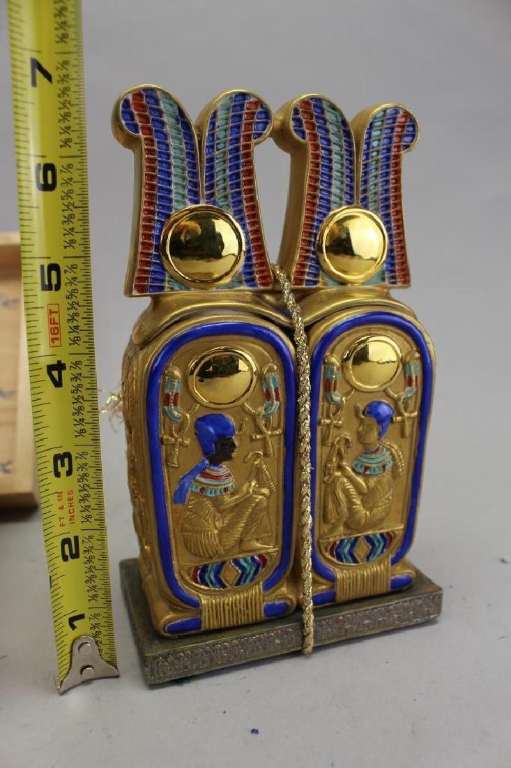 Museum Replica 24k King Tut Ointment Jar - 3