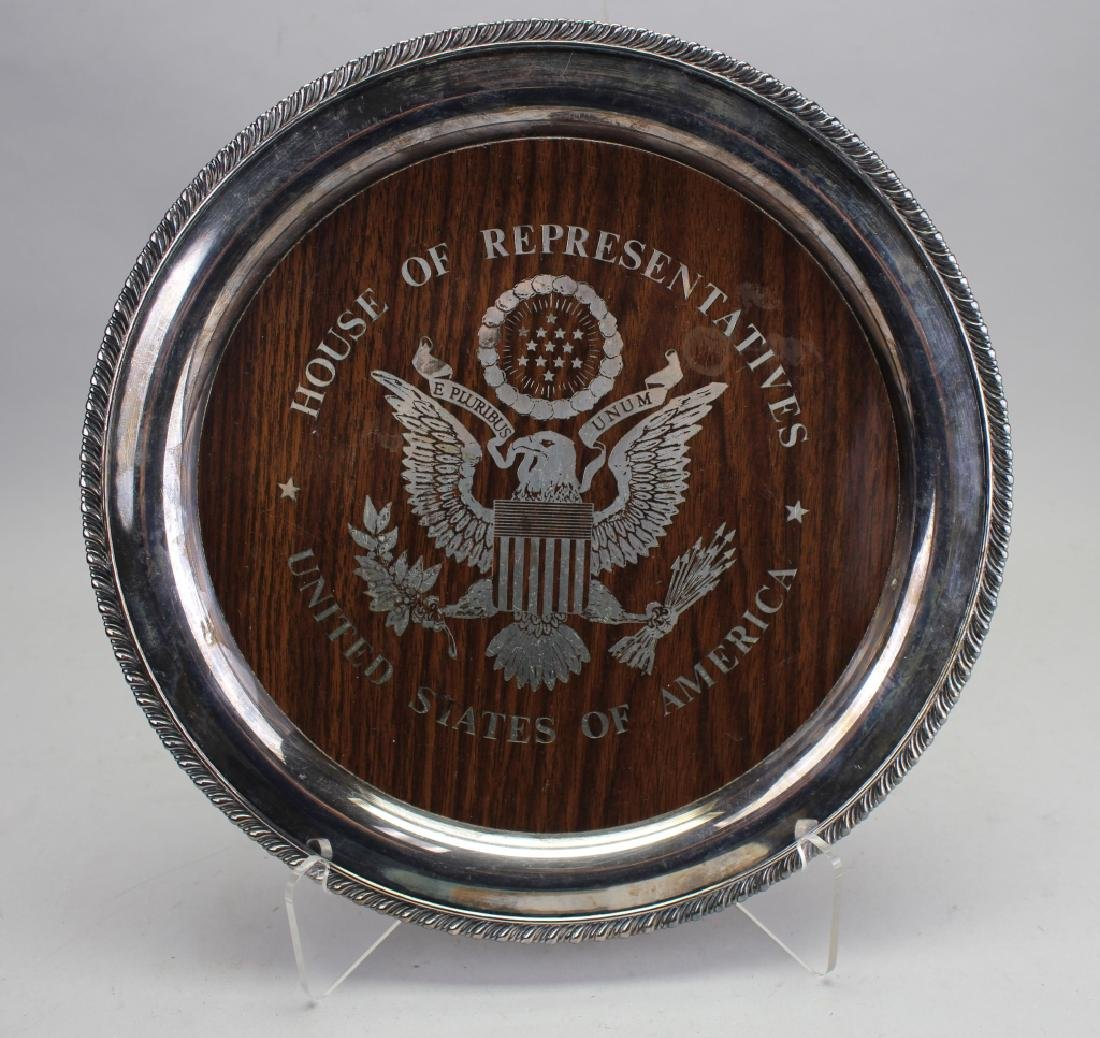 US House of Representatives Serving Dish
