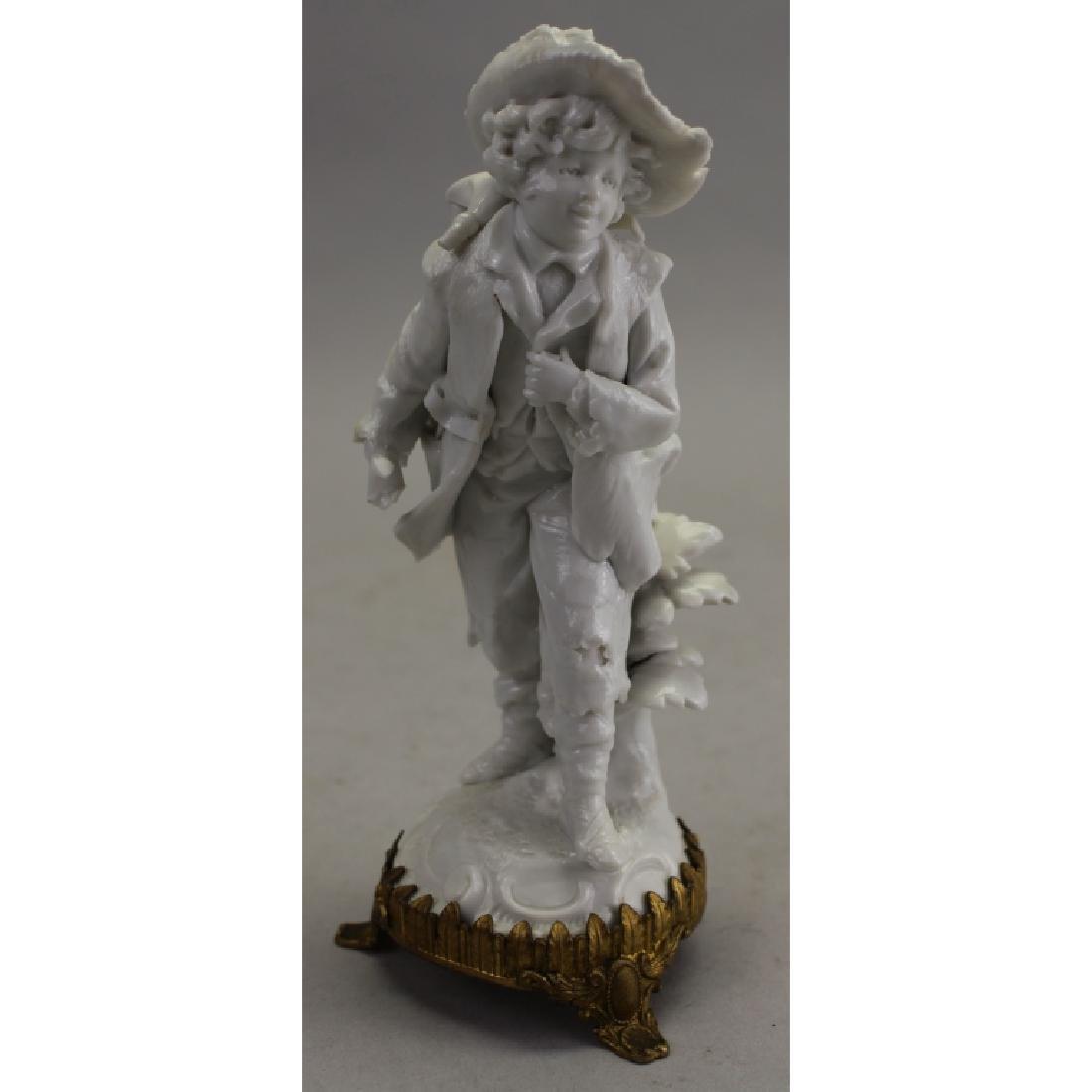 Capodimonte Porcelain Figure