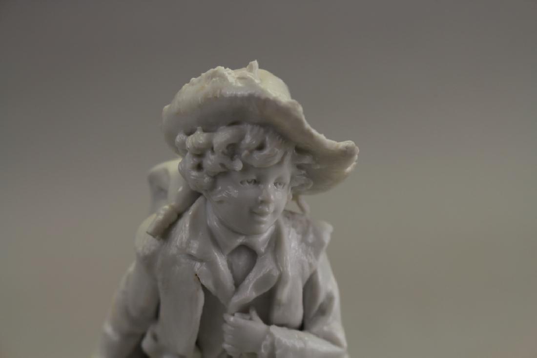 Capodimonte Porcelain Figure - 2