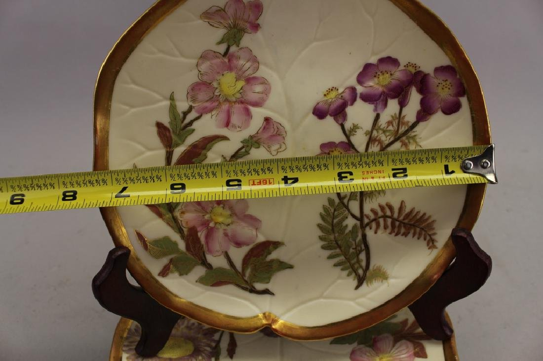 (5) Gilt French Floral Dishes - 2
