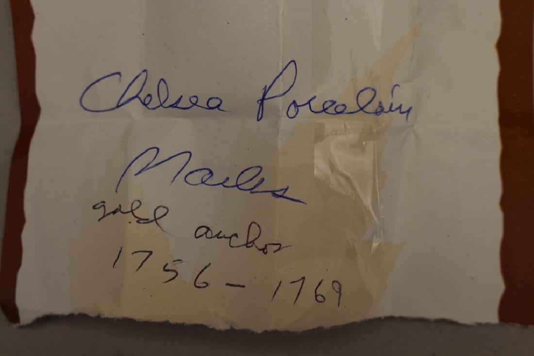 (2) Antique Chelsea Porcelain Figures - 4