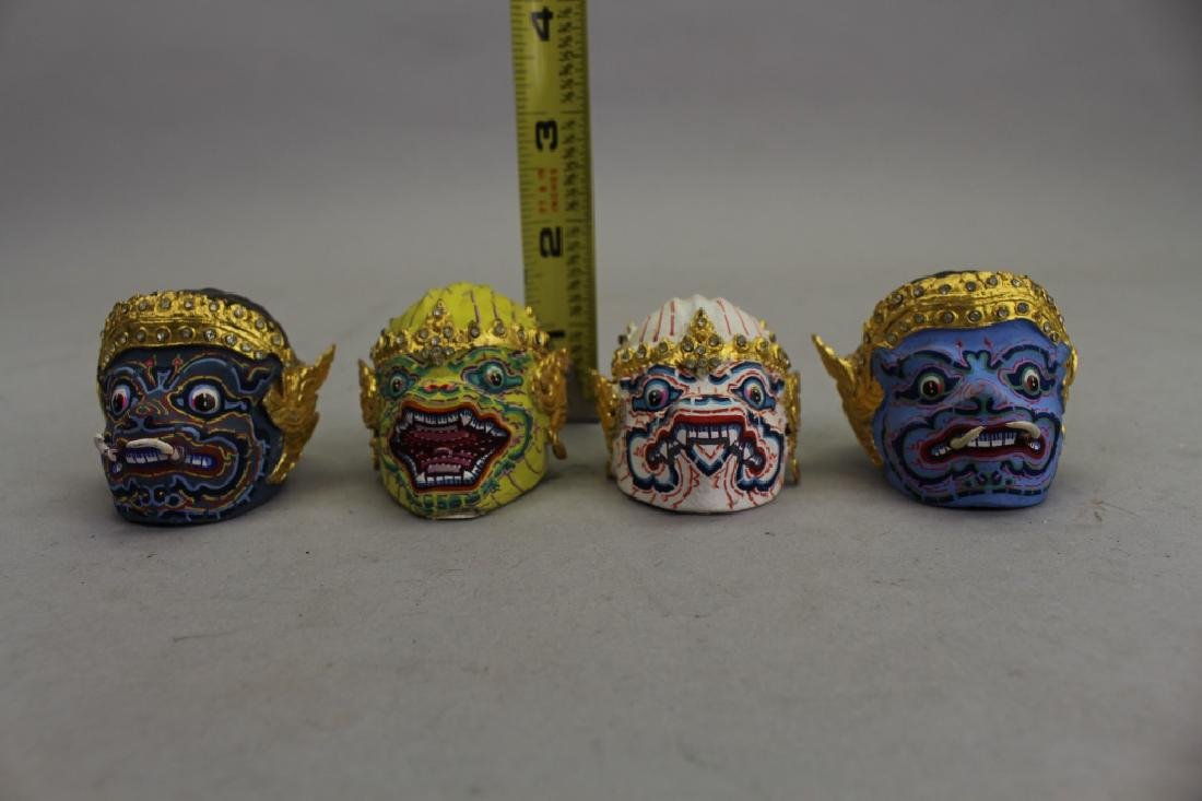 (4) Thai Khon Busts - 2