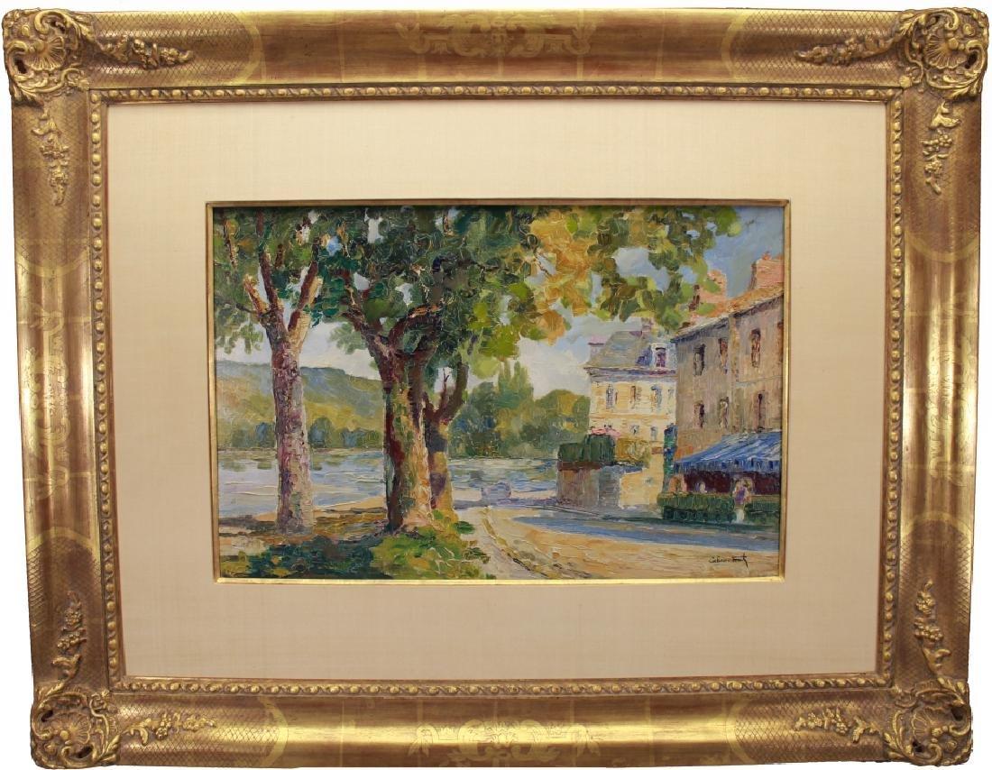 Louis Labro-Font (France, 1881 - 1952) Oil/Board