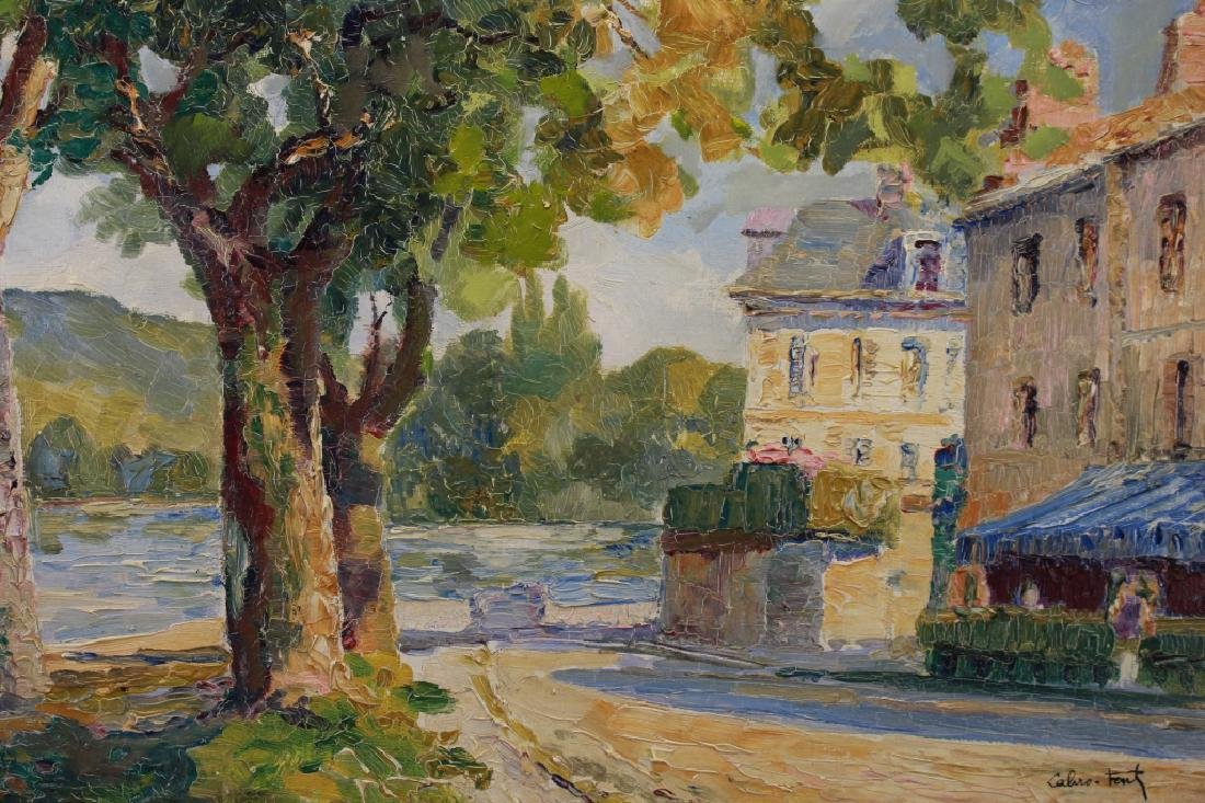 Louis Labro-Font (France, 1881 - 1952) Oil/Board - 2