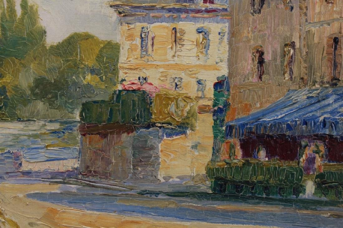 Louis Labro-Font (France, 1881 - 1952) Oil/Board - 3