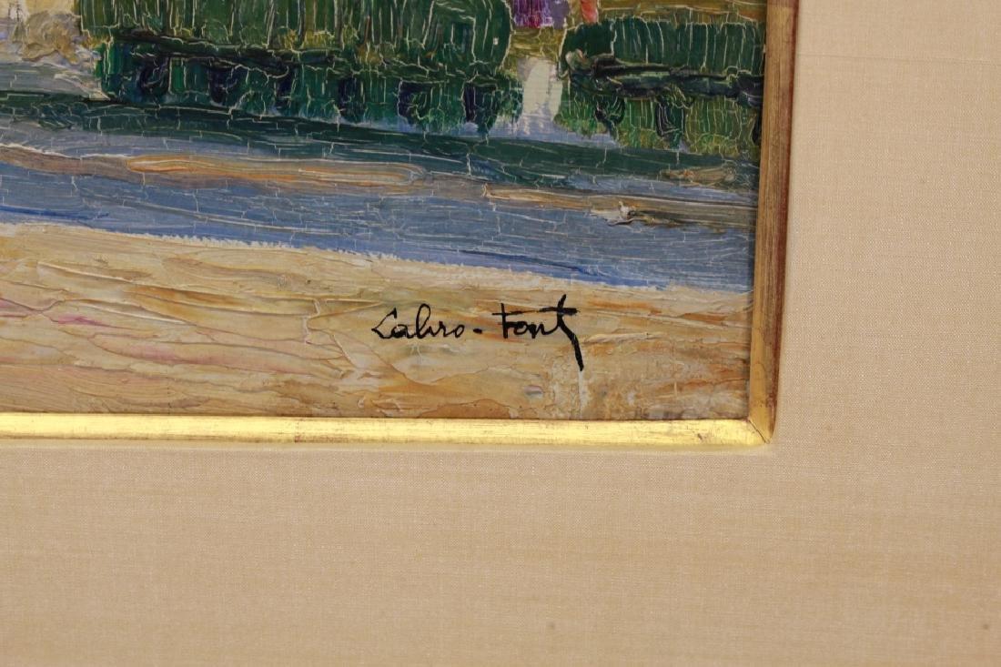 Louis Labro-Font (France, 1881 - 1952) Oil/Board - 4