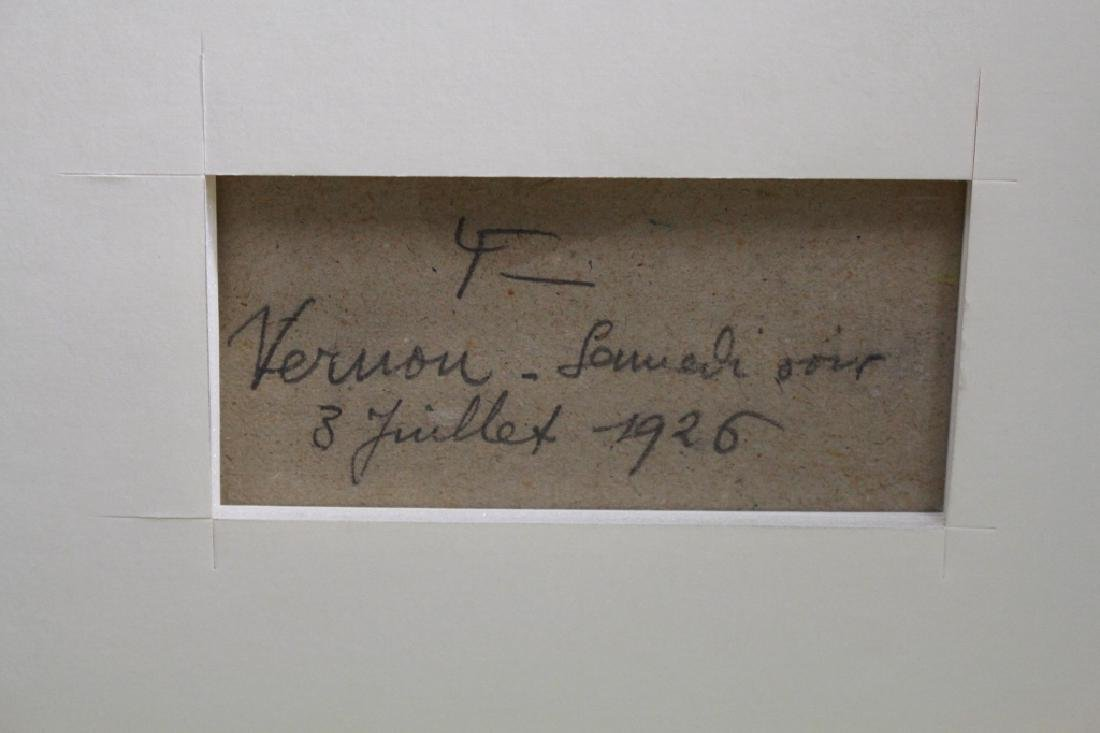 Louis Labro-Font (France, 1881 - 1952) Oil/Board - 7