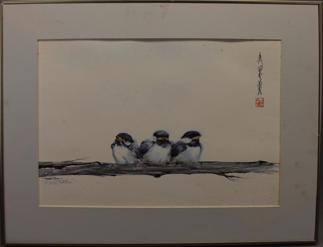 Frank T. Gee, Three Chickadees