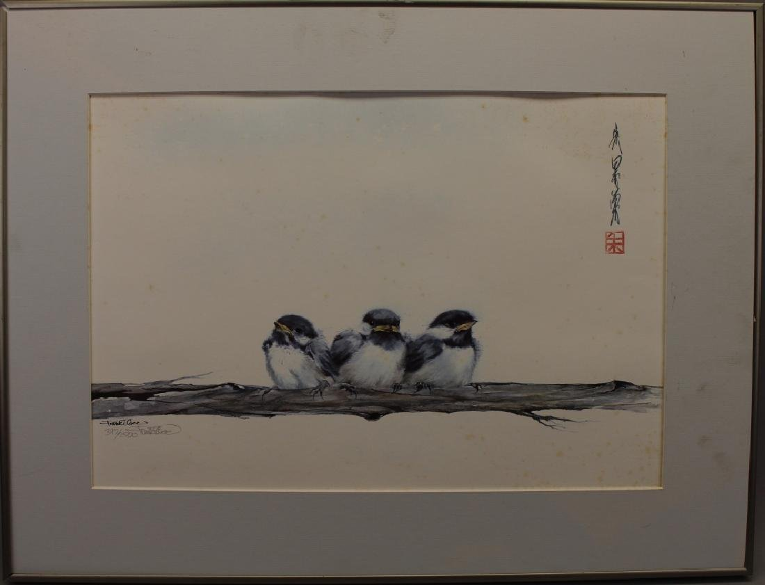 Frank T. Gee, Three Chickadees
