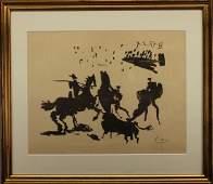 """Pablo Picasso (1881 - 1973) """"La Corrida"""""""