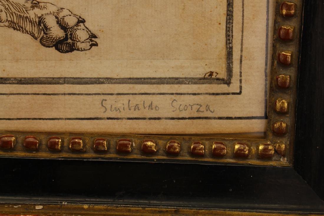 "Sinibaldo Scorza (Italy, 1589-1631) ""Sleeping Dog"" - 4"