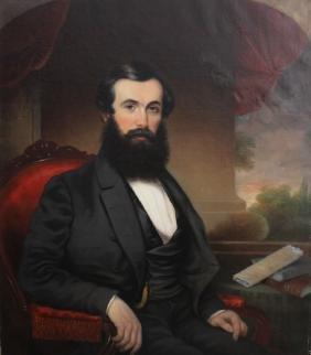 Attr Miklos Nikolaus Barabas (Hungary, 1810-1898)