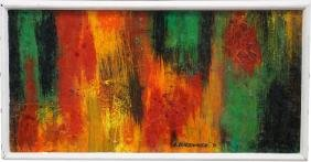 A. Brenner, Signed Abstract Painting