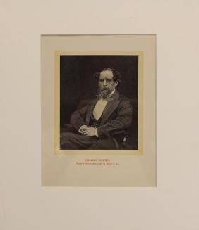 (14) Prints/Engravings of Charles Dickens