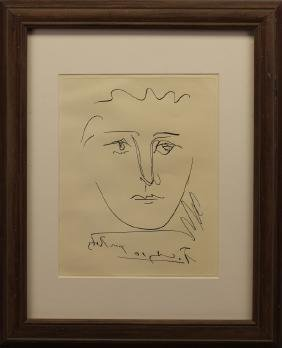 Pablo Picasso (1881-1973) Etching