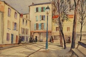 Bernard Parker 1944, Street Scene