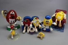 (6) M&M Toys