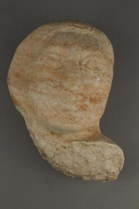 Modern Carved Stone Bust