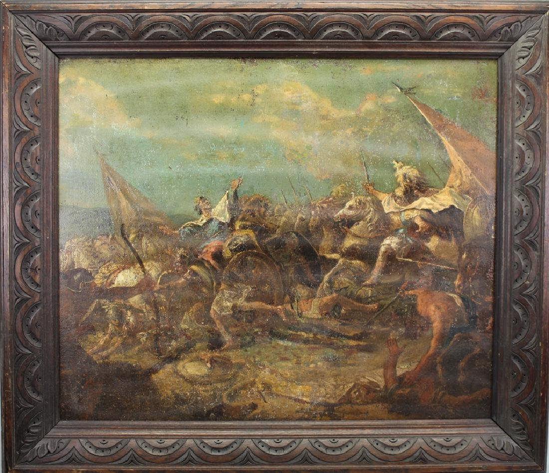 Italian Old Master Battle Scene