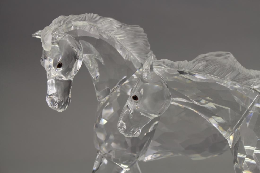 Swarovski Crystal Horses on Base - 4