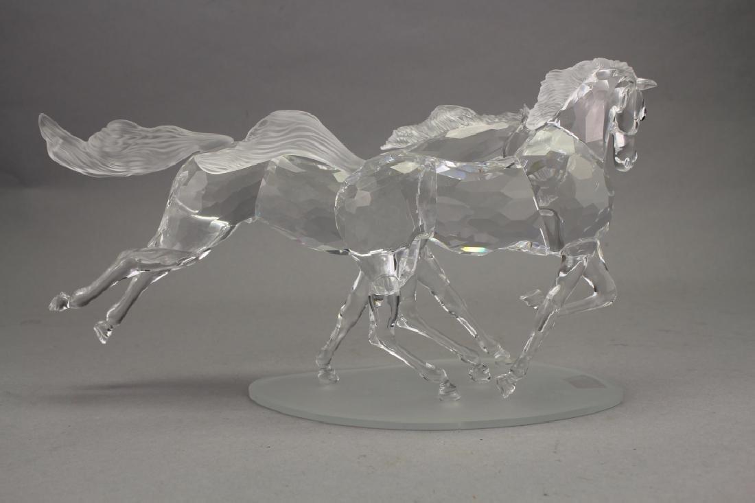Swarovski Crystal Horses on Base - 5