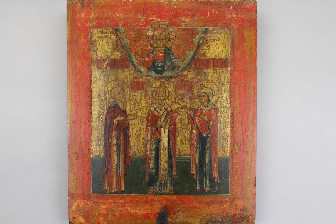 Early Antique Russian Icon