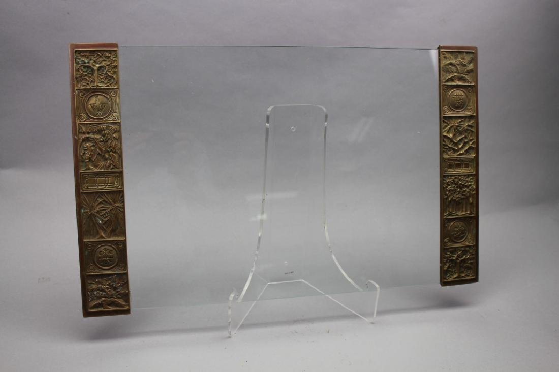 Pair, Signed Tiffany & Co. Bronze Blotters