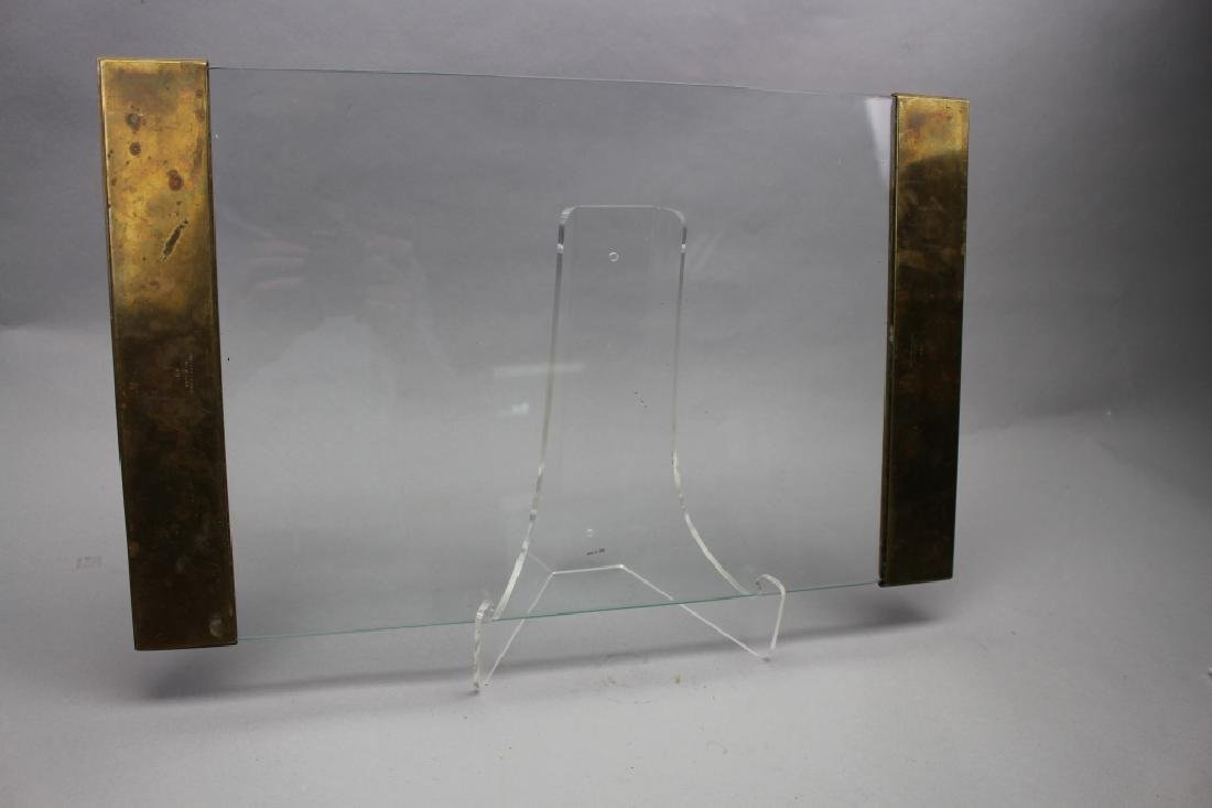 Pair, Signed Tiffany & Co. Bronze Blotters - 5