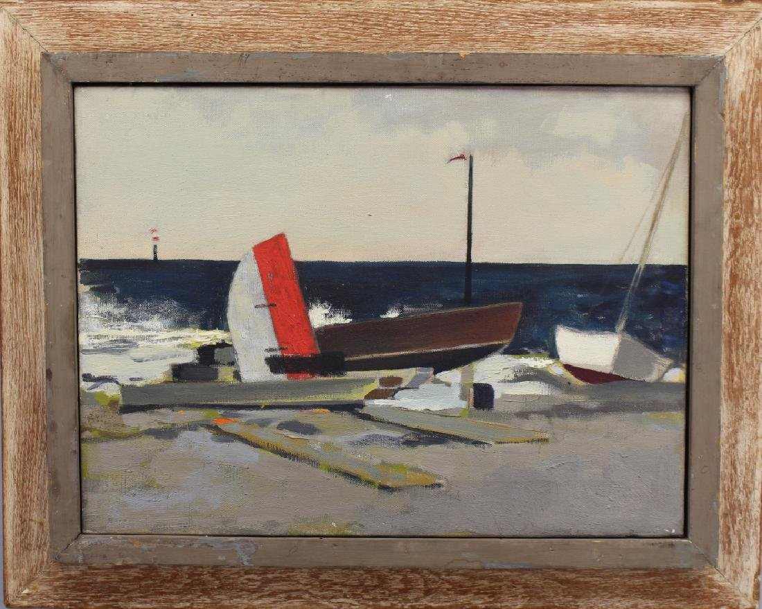 "Margaret Appich (born 1916) ""Storm-Nantucket"""