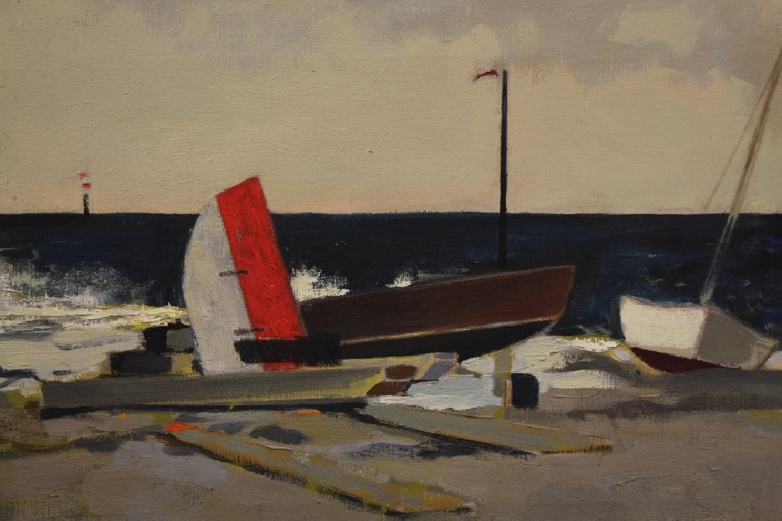 "Margaret Appich (born 1916) ""Storm-Nantucket"" - 2"