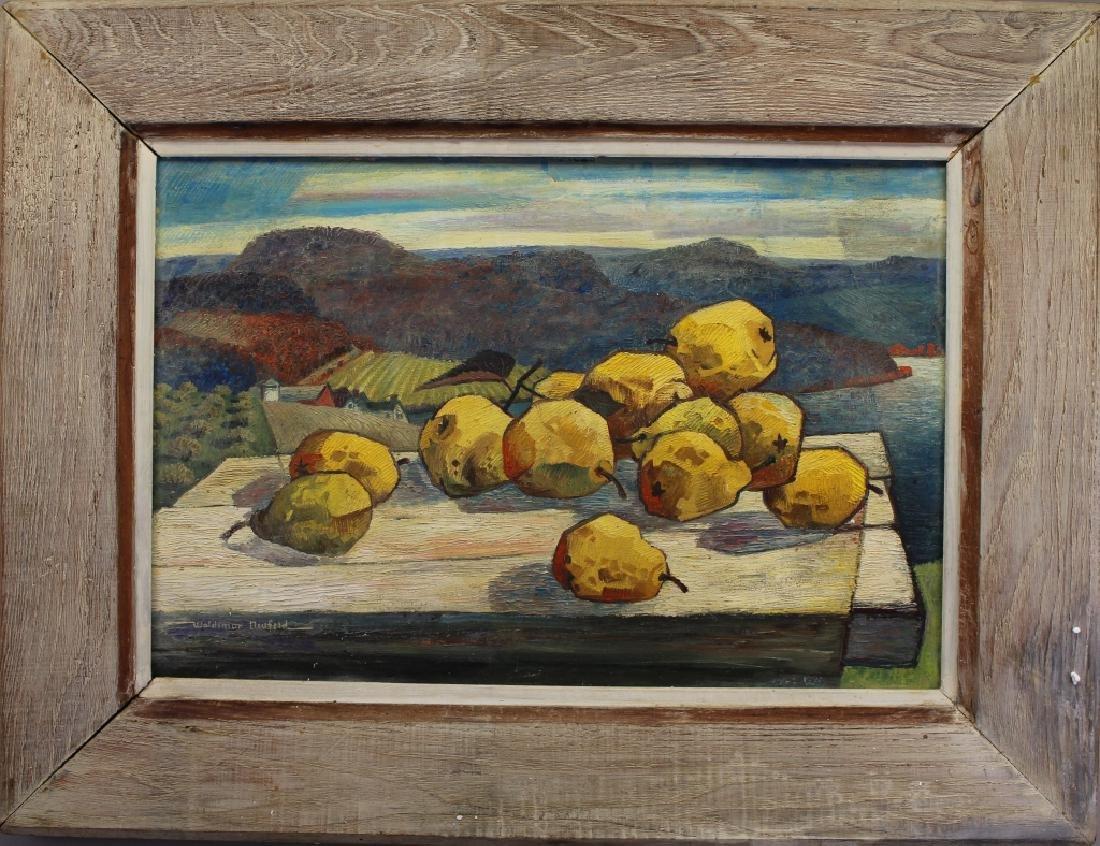 """Woldemar Neufeld (1909 - 2002) """"Yellow Pear"""""""
