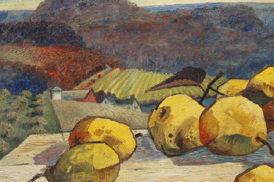 """Woldemar Neufeld (1909 - 2002) """"Yellow Pear"""" - 2"""
