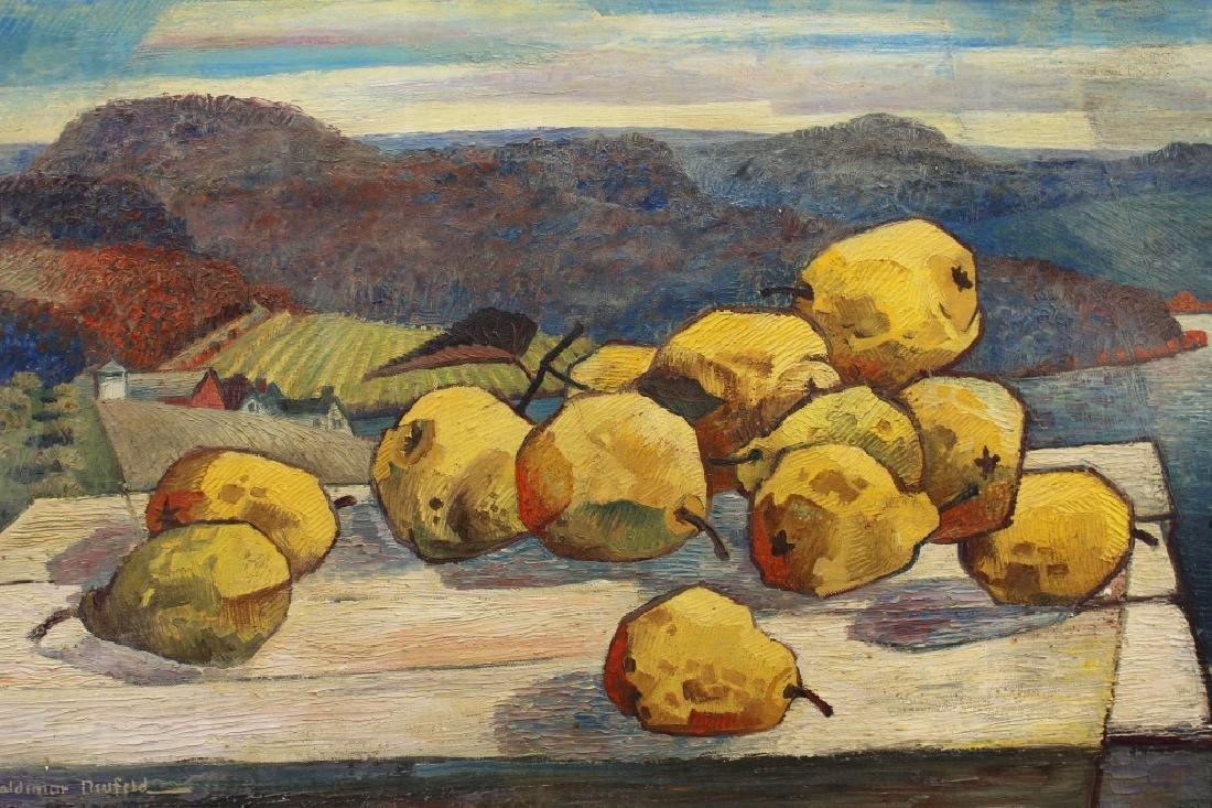 """Woldemar Neufeld (1909 - 2002) """"Yellow Pear"""" - 4"""