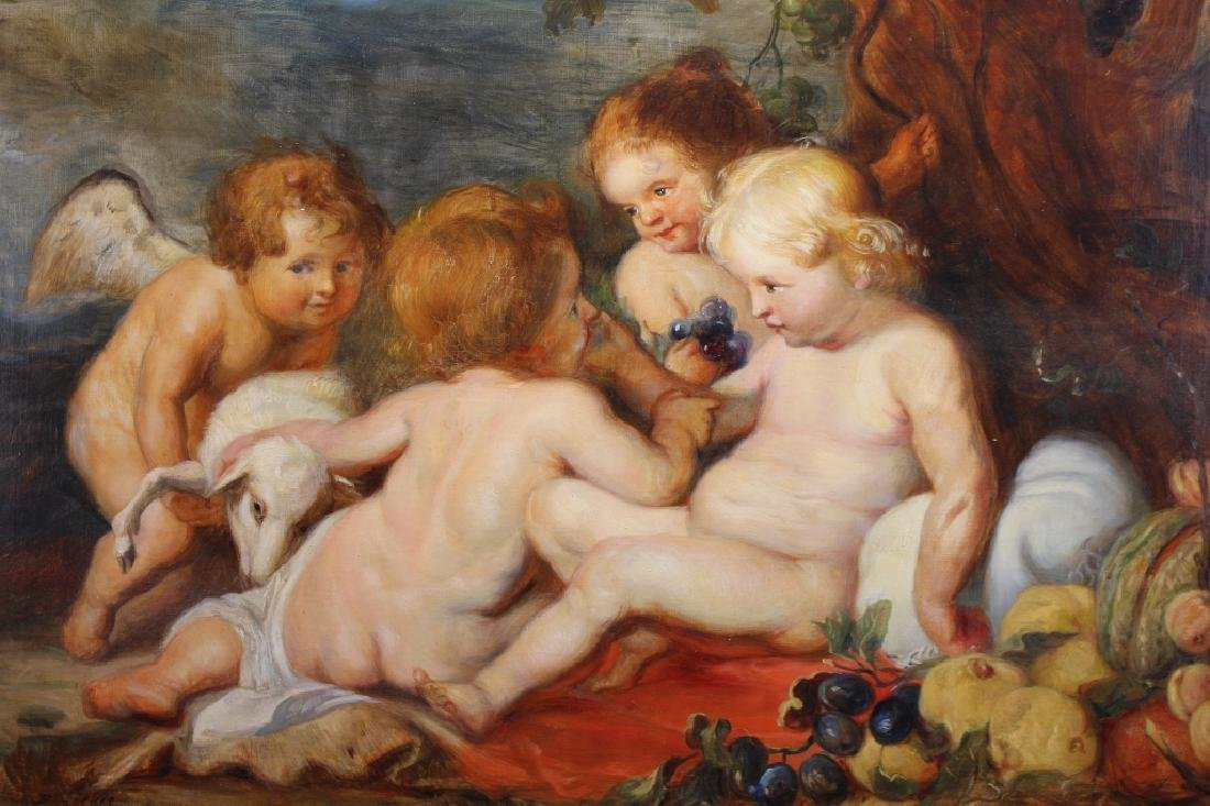 After Rubens, Christ the Infant w/ St John - 2