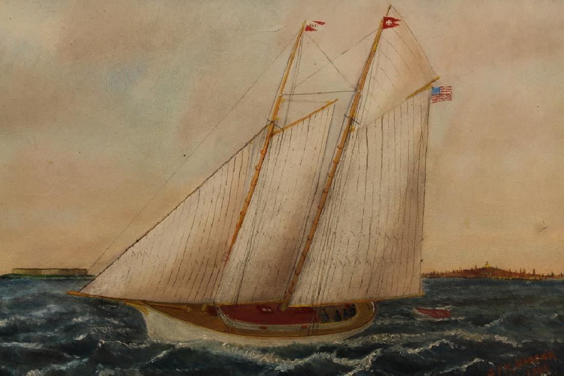 Solon Badger ( Massachusetts 1873 - 1919) - 2