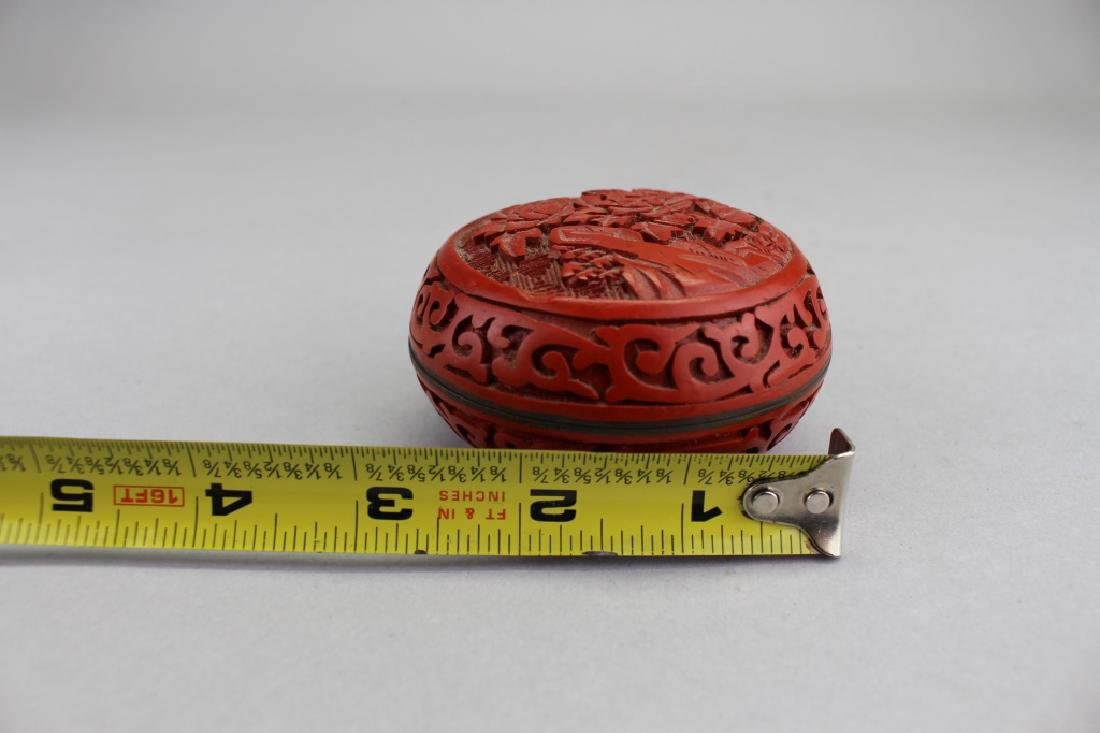 Chinese Cinnabar Covered Vessel - 4