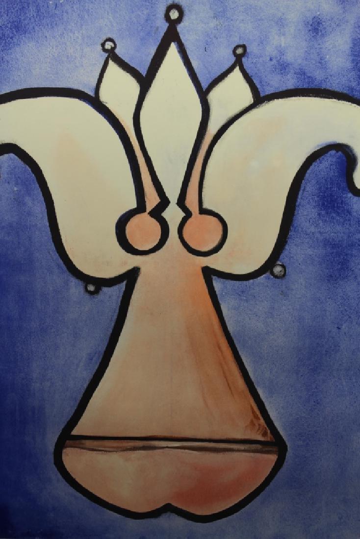 "Salvador Dali ""Fleur De Lys"" Lithograph - 2"