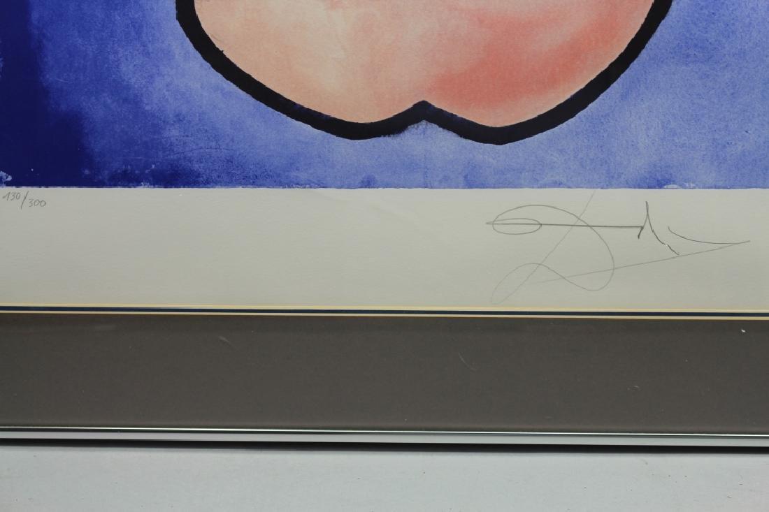 "Salvador Dali ""Fleur De Lys"" Lithograph - 3"