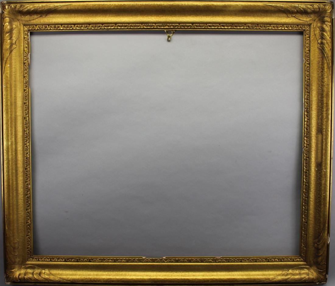 Carved/Gilded Newcomb Macklin Style Frame