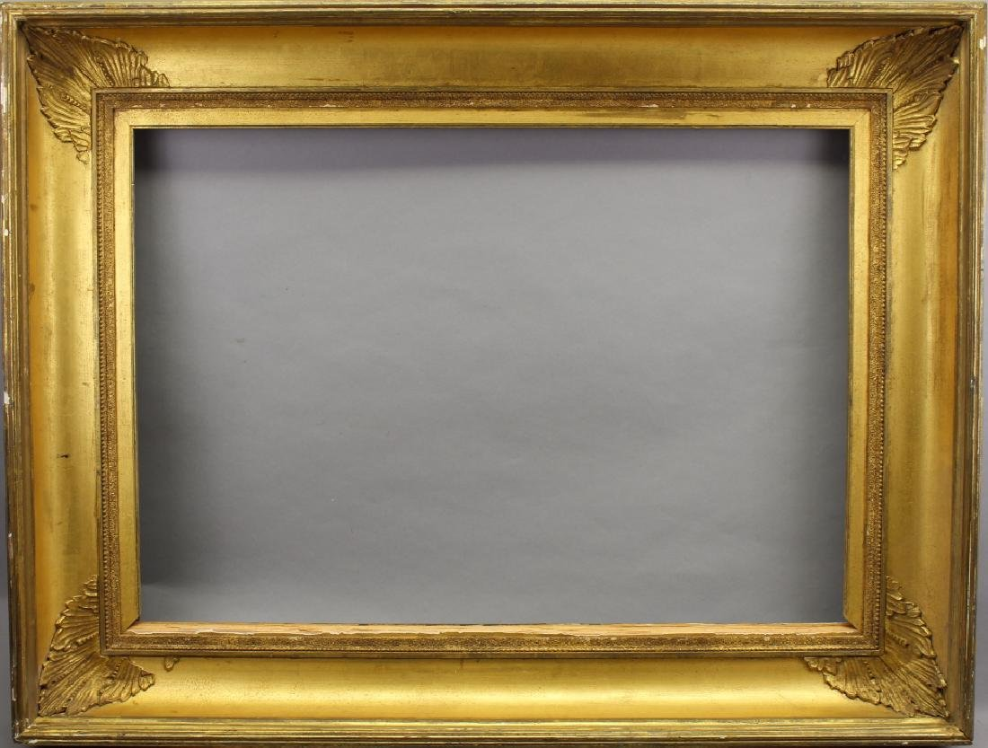 Carved/Gilded Hudson River Style Frame