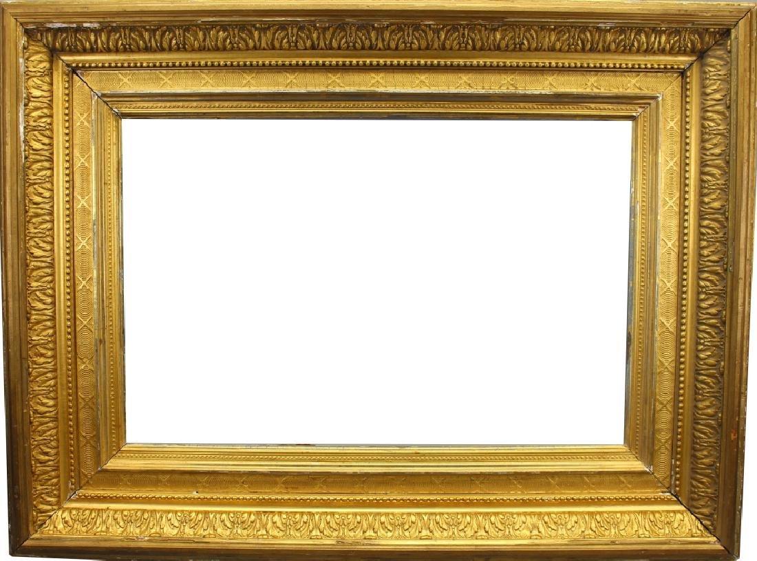 Antique Carved Victorian Style Gilt Frame