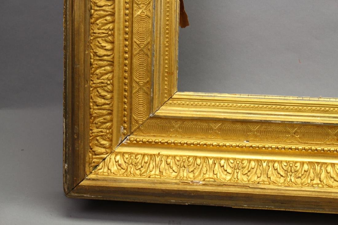 Antique Carved Victorian Style Gilt Frame - 2