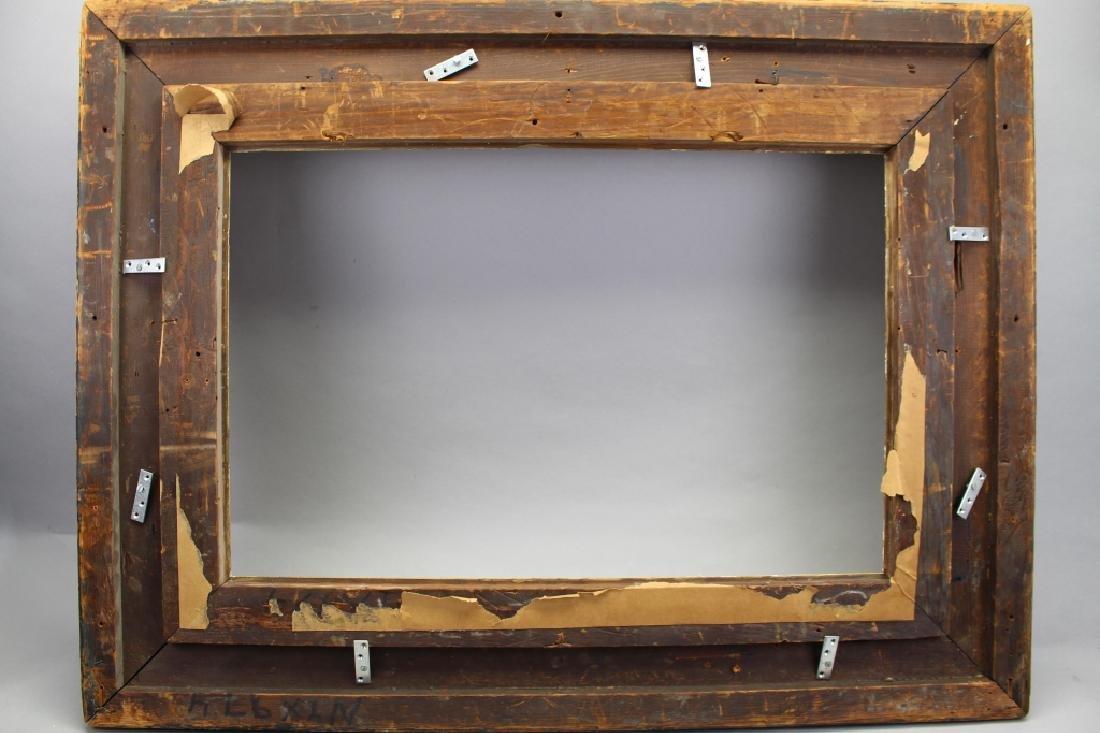 Antique Carved Victorian Style Gilt Frame - 3